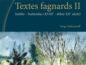 Textes fagnards Inédits – Inattendus II
